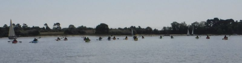 Passing the Rocks on the Deben